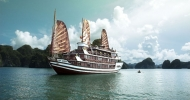 Halong Bay and the Bhaya Cruiseship